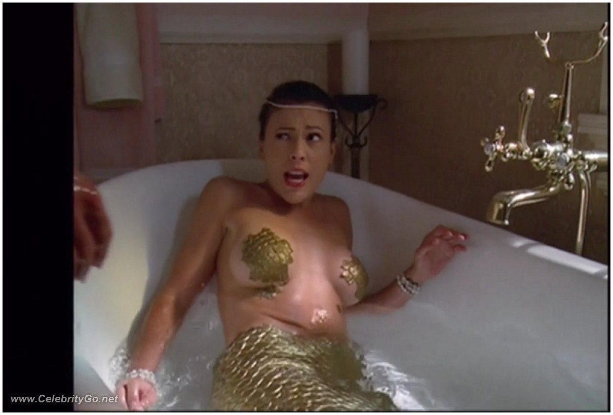 Alyssa milano desnuda real gratis