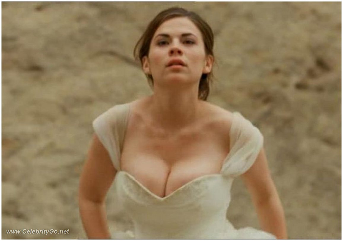 Opinion you hayley atwell boobs