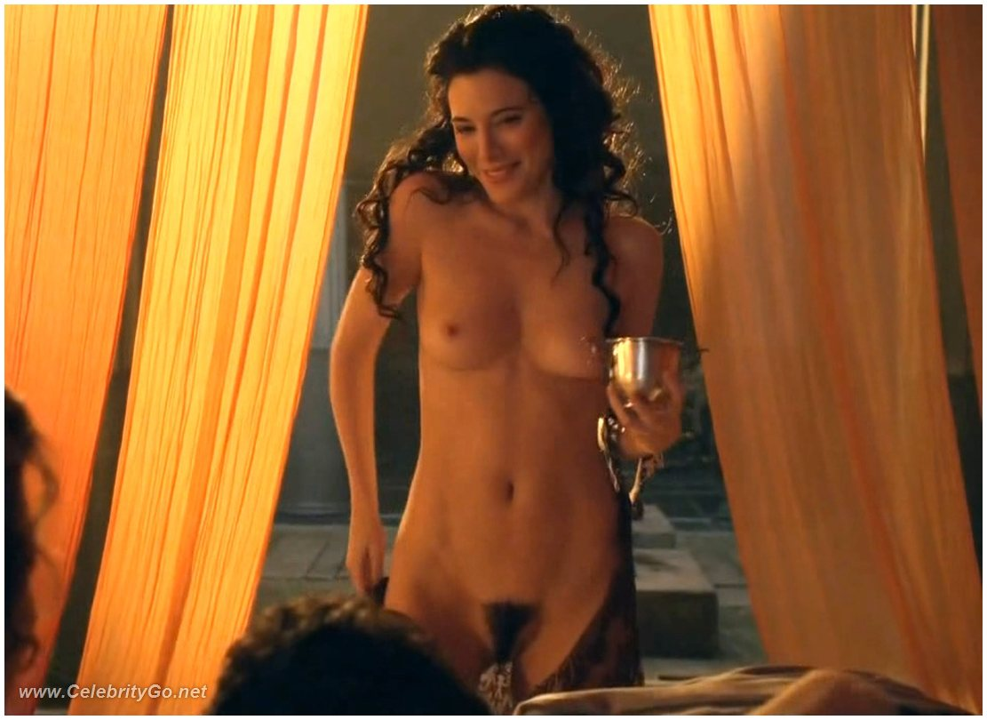Jaime murray and lucy lawless threesome 10