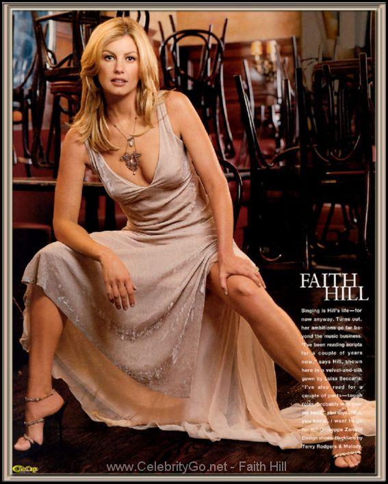 faith hill naked today