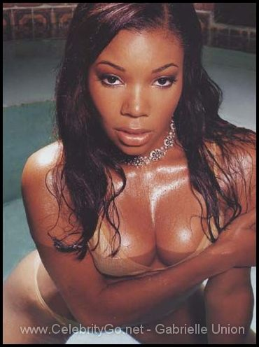 gabrielle union naked tongue