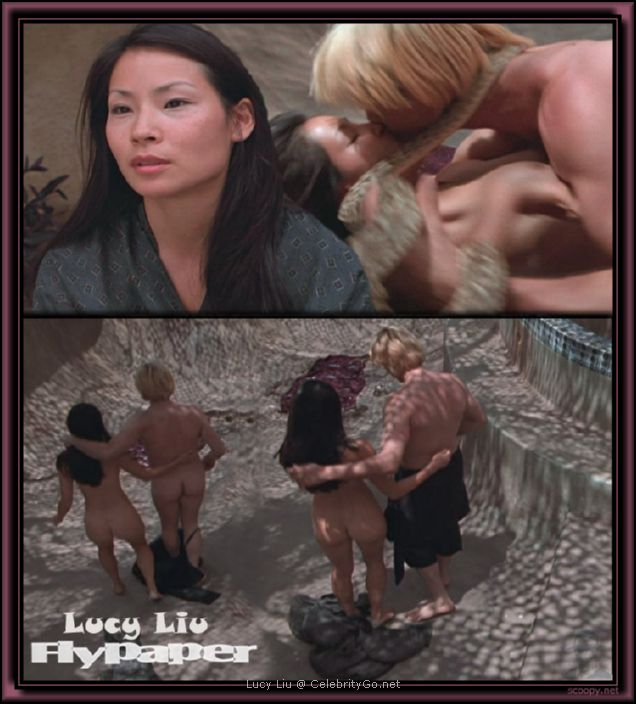 Lucy Liu nude and naked