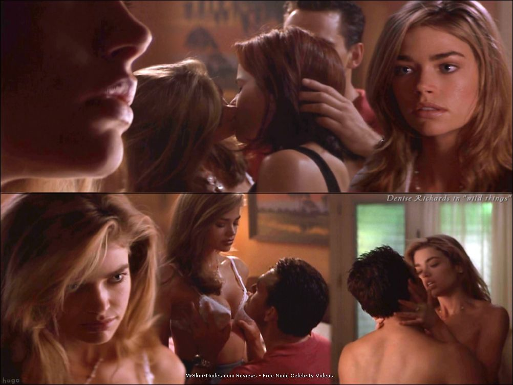 denise richards sexy school girl wild things
