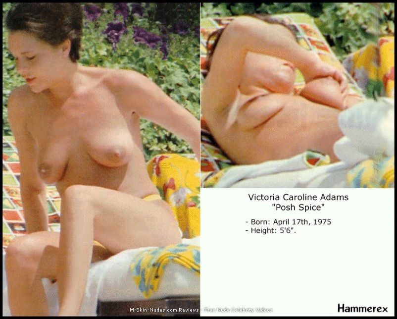 Sexy Victoria Adams topless paparazzi shots | Mr.Skin FREE Nude ...