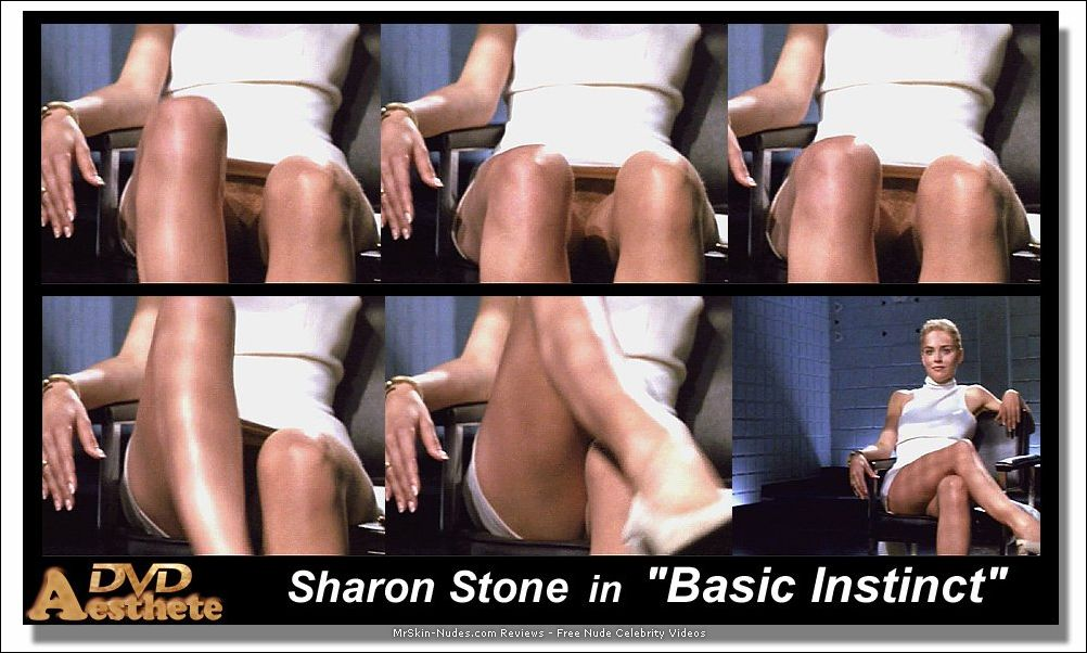 Sharon stone shows her cunt